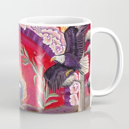Eagles, Hummingbirds and a Bear Coffee Mug
