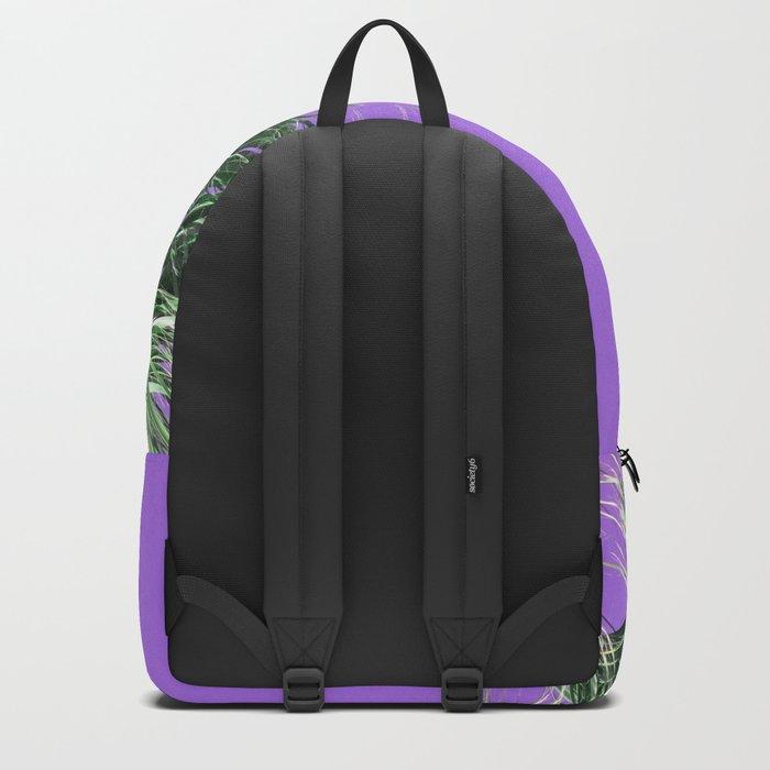 Palms on Purple Backpack