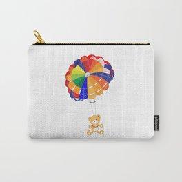 Parachuting Bear 2 Carry-All Pouch