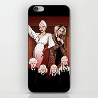 ahs iPhone & iPod Skins featuring AHS Hotel by David M. Buisán
