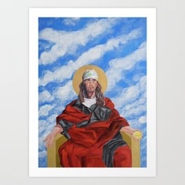 DFW Icon Art Print