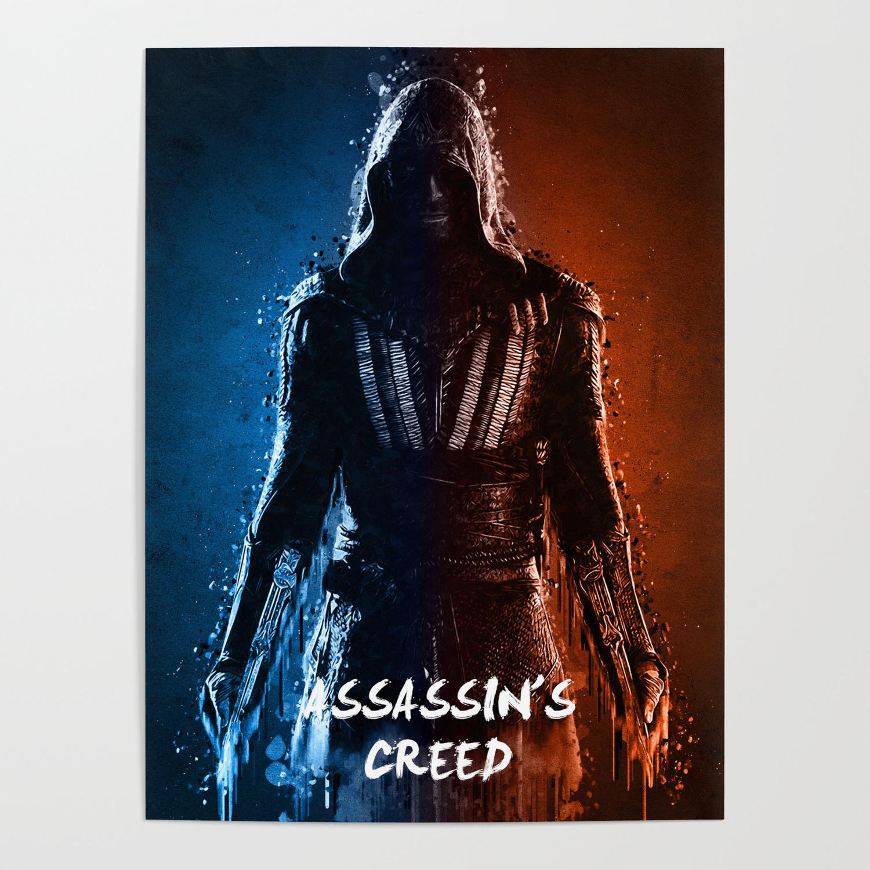 Acrylic 3d Assassins Creed Poster By Fando01 Society6