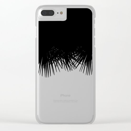 Fan Palm Clear iPhone Case
