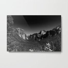 Yosemite Valley View Metal Print