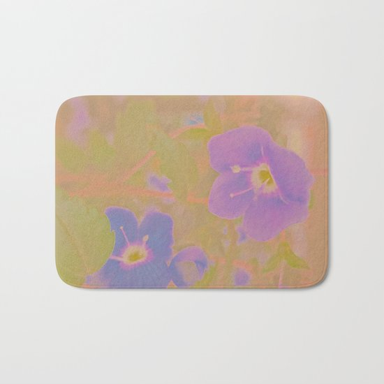 Georgia Blue, The Earth Laughs In Flowers Bath Mat