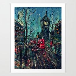 Impressionistic London  Art Print