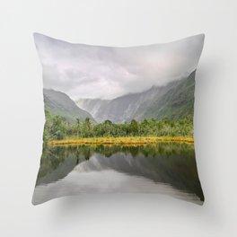 Ambiguous Skies Throw Pillow