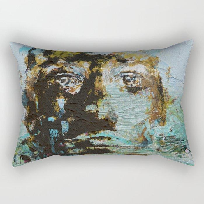 The Human Race 5 Rectangular Pillow