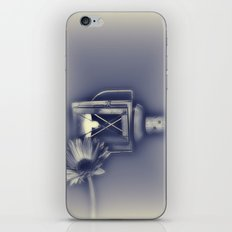 Vintage blue iPhone & iPod Skin