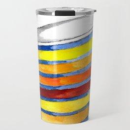 Relax Watercolor Tumbler Travel Mug