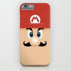 Mario With Cool Mustache Slim Case iPhone 6s