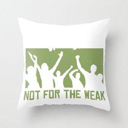 Stop Smoking saying Throw Pillow