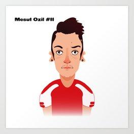 Mesut #11 Art Print