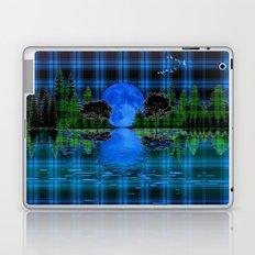 Blue Moon Laptop & iPad Skin