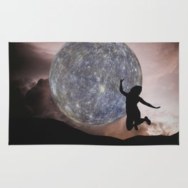 DANCING WITH THE MOON Rug