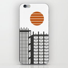 City in construction iPhone Skin