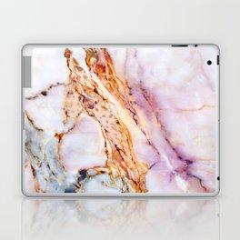 Pink marble detail Laptop & iPad Skin