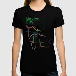 Mexico City Transit Map T-shirt