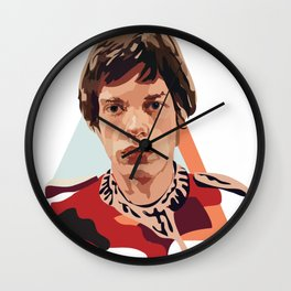 Young Jagger Wall Clock