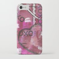xoxo iPhone & iPod Cases featuring XOXO by Kimberly McGuiness