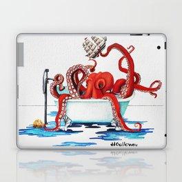 Bath Time Red Laptop & iPad Skin