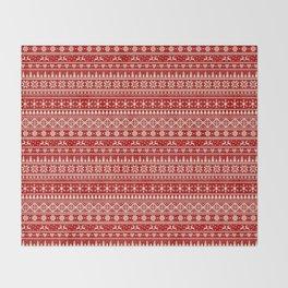Christmas Jumper Throw Blanket