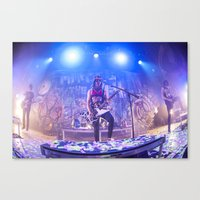 pierce the veil Canvas Prints featuring Pierce The Veil by shannonbenannen