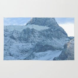Los Andes - Snow in mountains Rug