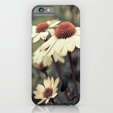 Soft white cone flower iPhone 6s Slim Case