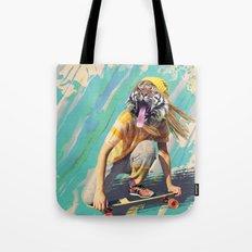 Skate Tiger Pepe Psyche Tote Bag