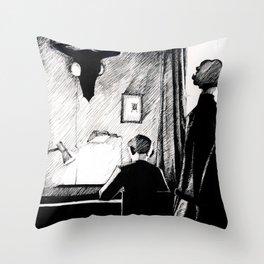A 221B Scene Throw Pillow