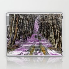 Road Through The Mystical Forest Laptop & iPad Skin