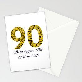 ΒΣΦ 90th on white (BSP) Stationery Cards