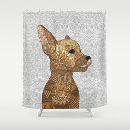 Miniature Pincher Shower Curtain