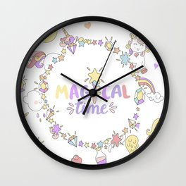Magical Time Wall Clock