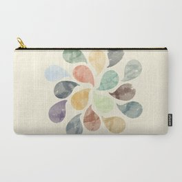 Colorful Water Drops (Watercolor version) Carry-All Pouch