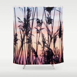 Long Point Sunset Shower Curtain
