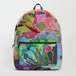 Succulents Paradise Backpack