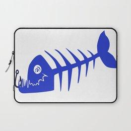 Pirate Bad Fish blue- pezcado Laptop Sleeve
