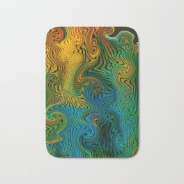 Variegraph 127 (Turbulation 2) Bath Mat