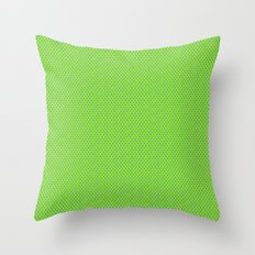 Picnic Pals mini dot in citrus Throw Pillow
