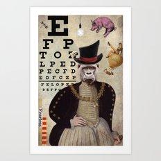 Animal Collection -- 20:20 Art Print