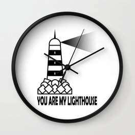 My Lighthouse Wall Clock
