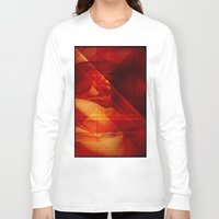 passion Long Sleeve T-shirts featuring Passion by Fine2art