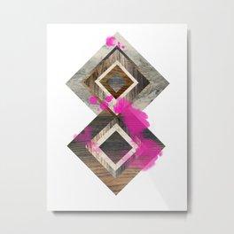 CARELESS Metal Print
