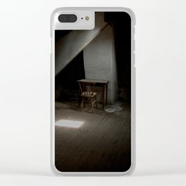 Writers corner Clear iPhone Case