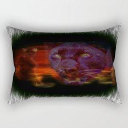 Egypt Goddess Bastet Rectangular Pillow
