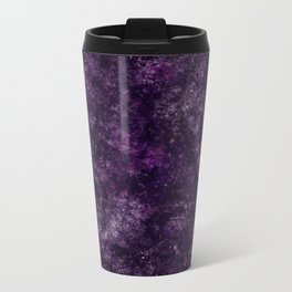 Purple Garden Metal Travel Mug