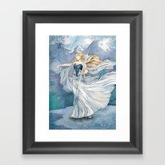 Always Winter, Never Christmas Framed Art Print