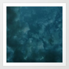Stormy Summer Nights Art Print